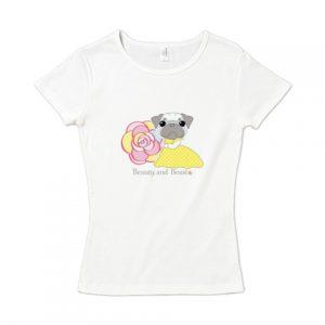 美女と野獣Tシャツ