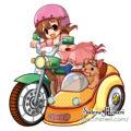マンガ-サイドカー-