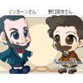 似顔絵-リンカーンさん・野口英世さん-